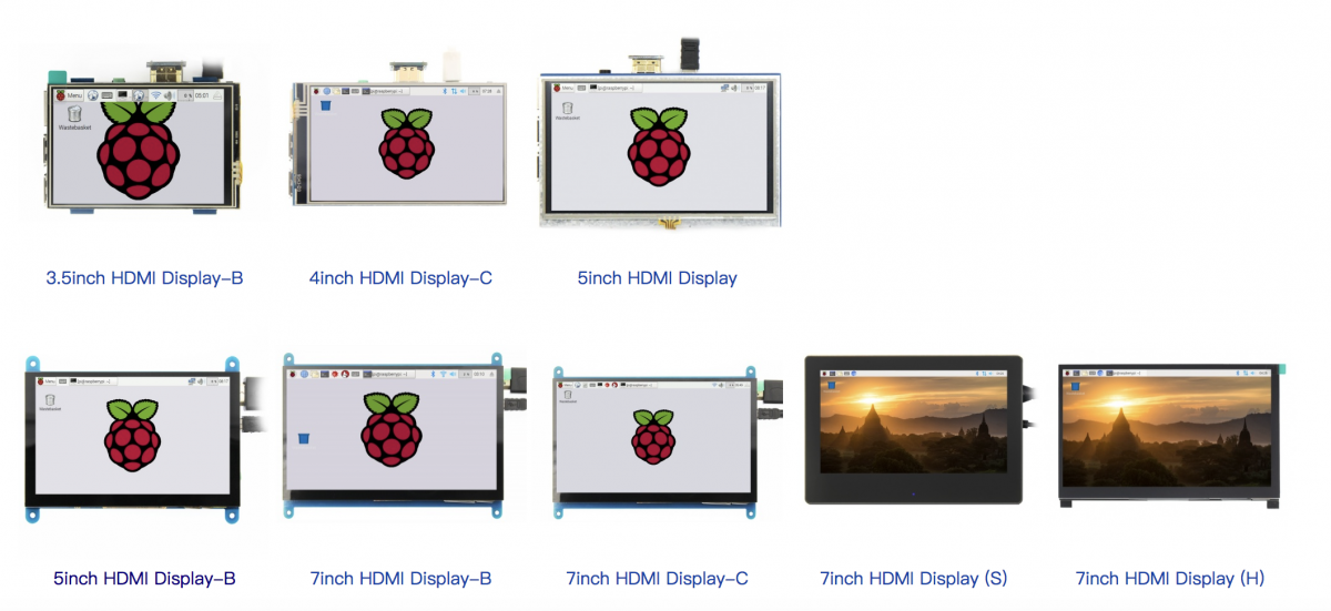 3.5inch4inch5inch 7inchHDMI LCD with touch screen